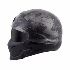 *Ships Same Day* Scorpion Covert Motorcycle Helmet 3 in 1 (Matte Black, Ratnik)