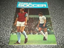 Football Magazine World Soccer March 1973 Koln Norwich City Chinaglia Breitner