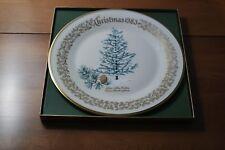 Lenox Annual Christmas Commemorative Plate 1983 Blue Atlas Cedar
