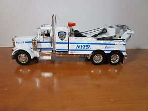 JADA 1/32 PETERBILT 379 NYPD TOW TRUCK WRECKER *VHTF* USED NICE *READ*