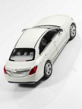 C Klasse W 205 Limousine ori Norev ® für Mercedes Miniatur Modell auto 1:43 weiß