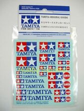 Tamiya Original  LOGO STICKER  Set  re Static R/C Model Kit  4WD Truck F-1 Decal
