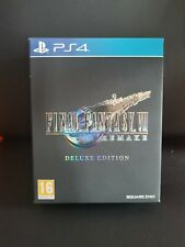 Empty Box Only! Final Fantasy VII 7 Remake Deluxe Edition Ps4 Perfect Condition