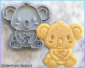 Koala Cookie Cutter Cute Australian Animals Baking Fondant Tool Ceramic Pottery
