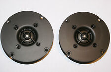 "Titanium 1"" Dome Tweeters Dayton DC25T-8 ferrofluid aluminumcoilrubber surround"