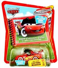 Disney Pixar Cars Race-O-Rama Night Vision Lightning McQueen with 2009 Guide!
