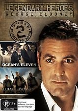 OCEANS ELEVEN 11 / THREE KINGS - BRAND NEW & SEALED 2-DISC DVD (GEORGE CLOONEY)