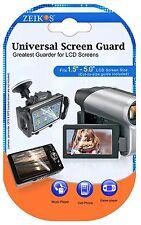 LCD Guard 3 Clear Screen Protector For Sony DSC-HX10V DSC-HX20V DSC-HX200V