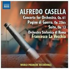 Casella: Concerto for Orchestra, Op. 61; Pagine di Guerra, Op. 25bis; Suite, Op.