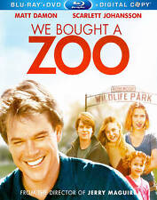 We Bought a Zoo (Blu-ray, 2012, 1-Disc Set) W/ SLIPCOVER