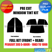 PEUGEOT 205 5-door 1983-1999 COMPLETO TASTINI finestra Tinta