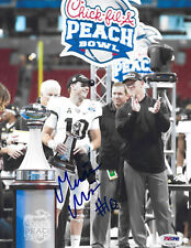 PSA/DNA UCF Knights #10 MCKENZIE MILTON Signed Autographed Football 8x10 Photo