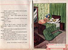 QUADERNO ORIGINALE 1951 PINOCCHIO  COLLODI AVVENTURE PINOCCHIO