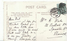 Genealogy Postcard - Family History - Wade - Sprowston Road - Norwich   BH3238