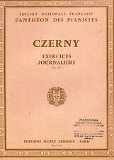 CZERNY Exercices journaliers- Op.337- Panthéon des pianistes