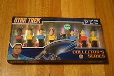 PEZ Star Trek Collector's Series Box Set Limited Edition 8 Dispensers NIB