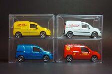 Majorette MINT Renault Kangoo Express Diecast Car Set of 4 [Loose packs]