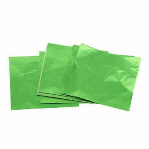 200pcs Candy Paper Aluminum Foil Paper Candy Chocolate Wrapping Colored Paper