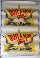 Disney Bust A Moo Theater Peel Sticker Giant Wall Decal Vinyl Art Decoration