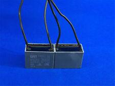 CBB61 2uF 450VAC 50/60Hz Ceiling Fan Motor Capacitor 2 Wires