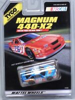 HO Slot Car - Tyco 440x2 Magnum - Pontiac Hot Wheels NASCAR #44 - 33584