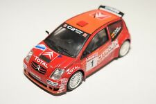 . ALTAYA IXO CITROEN C2 SUPER 1600 RALLY RED EXCELLENT CONDITION