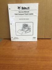 Bobcat T550 Track Loader Service Manual Shop Repair Book 1 Part Number # 6989679