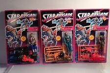 Lot of 3 GI Joe Star Brigade figures TARGAT Ozone , Astro Viper MOC