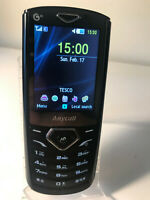 Samsung GT C3630 - Black & Silver (Unlocked) Mobile Phone - Good Condition