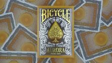 1 Deck Bicycle Aurora Foil Embossed Tuck Box Standard Poker Playing Cards New