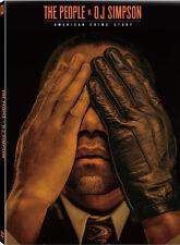 American Crime Story: The People V Oj Simpson - 4 DISC  (2016, REGION 1 DVD New)