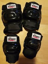 Wipeout Child Age 5+ Protective Gear Set Knee Elbow Pads Wrist Guards New