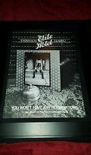 Emmylou Harris Elite Hotel Rare Original Promo Poster Ad Framed!