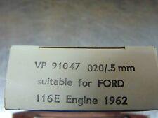 """Ford Cross-Flow/Pre-cross-Flow VP91047 Main bearings @ +20""""."""