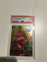 1997-98 Metal Universe #20 Allen Iverson PSA 9 Mint 2nd Year LOW POP
