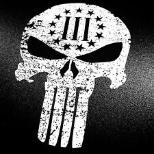 Punisher Three Percenters - Sticker