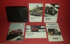 13 2013 BMW 3 Series Sedan Owners Manual w/ Navigation