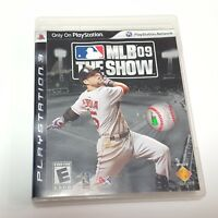 MLB 09 The Show Sony PlayStation 3 2009 Book Included PS3