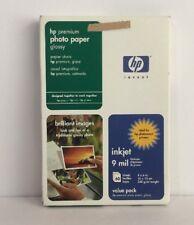 """HP Premium Photo Paper - Glossy - 4""""x6"""" - Unopened"""