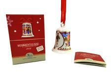 HUTSCHENREUTHER Weihnachtsglocke 2019 Porzellan - Motiv Weihnachtsmarkt - OVP