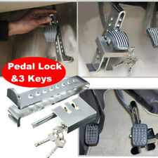 Steel Brake Pedal Lock Security Car Auto Stainless Steel Clutch Lock Anti-theft