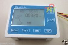 "3"" Digital LCD Water Liquid Flow Meter Gauge Quantitative Control Total monitor"