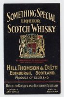 SOMETHING SPECIAL LIQUEUR SCOTCH WHISKY: Whisky label (C19441).