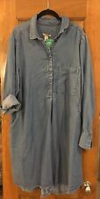H&M Plus Denim Tunic/Dress Size 18