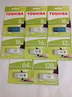 Pen Memory 8 GB/16/32/64GB Thumb USB2.0/3.0 Flash Drive Genuine Toshiba Retail