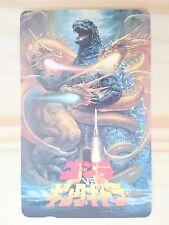 RARE Unused item 1991 GODZILLA vs. King Ghidora Phone card Japan Movies/774