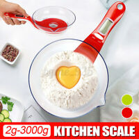 2g-3000g Kitchen Weight Scale Electronic Food Measuring Tools LCD Digital Scale