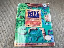 THE LEGEND OF ZELDA A LINK TO THE PAST NINTENDO PLAYERS GUIDE #1992 Ships Free!!