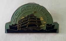 Pin in Original Pkg. S.S. Admiral Vintage Enamel Lapel