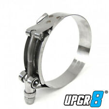 1X 4″ (4.26″-4.57″) 301 Stainless Steel T Bolt Clamps Hose Clamp 108mm-116mm